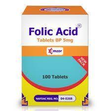 Emzor Folic Acid 5mg