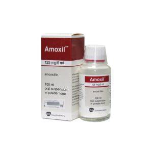 Amoxil 125mg/5ml
