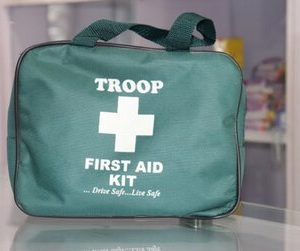 Troop First Aid Kit Silver