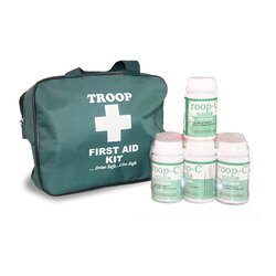 Troop First Aid Kit Gold and 6 Troop C White Merger