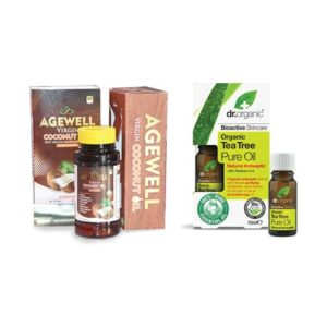 Agewell Coconut Oil Capsule With The Tea Tree Oil