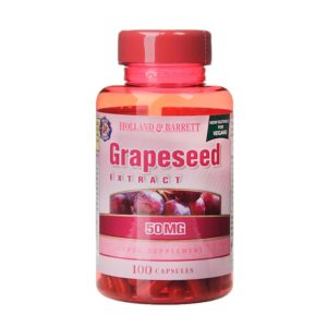 Holland & Barrett Grapeseed Extract 50mg 100 Capsules